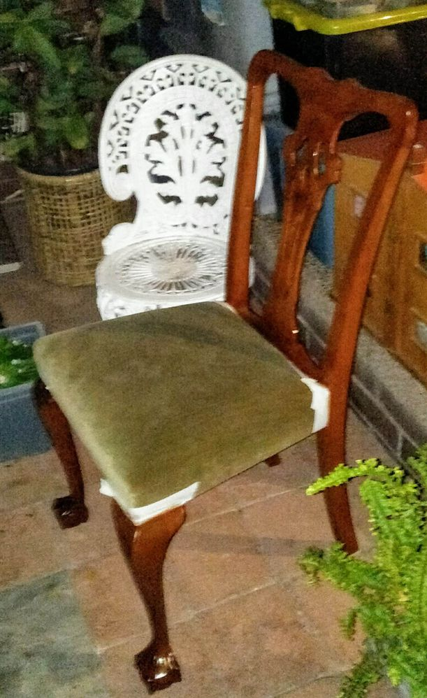 Mid Restoration of Chippendale Style Ball and Claw Foot Chair
