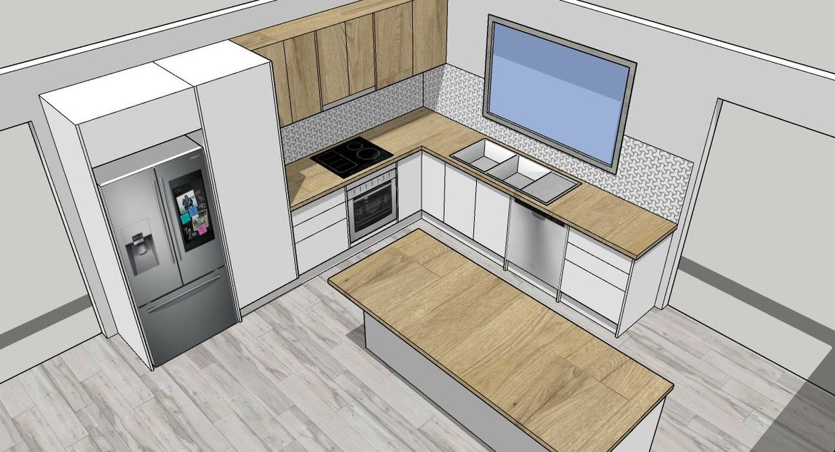 Flat pack kitchens? You bet!