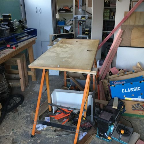 Goodbye old temp workbench