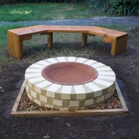 A fire pit can make a great addition