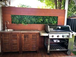 After: Outdoor Kitchen