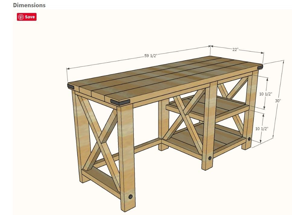 Rough Plan of the Table