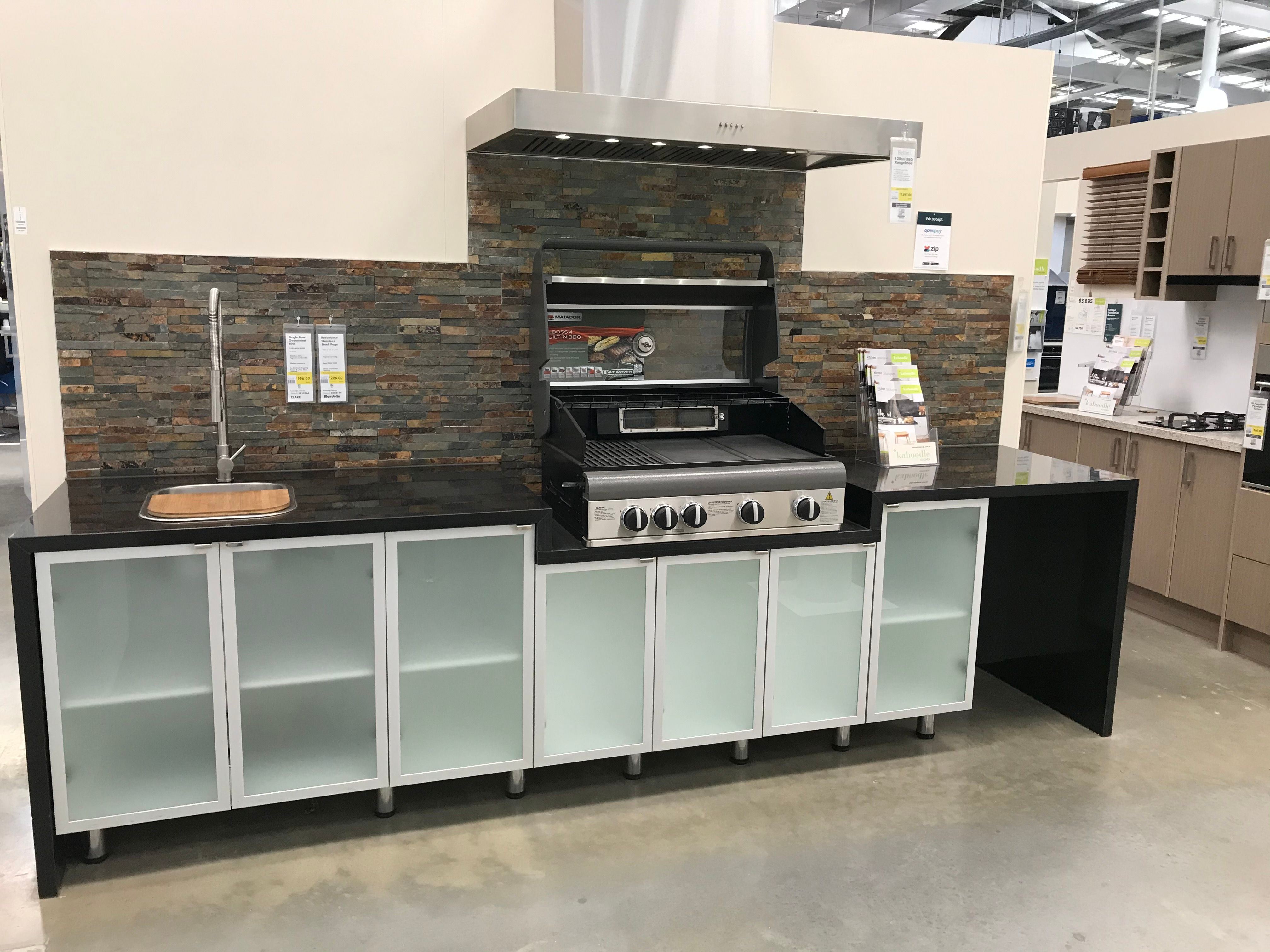 Outdoor kitchen ideas wanted  Bunnings Workshop community