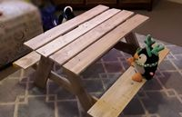 Raw kids picnic table
