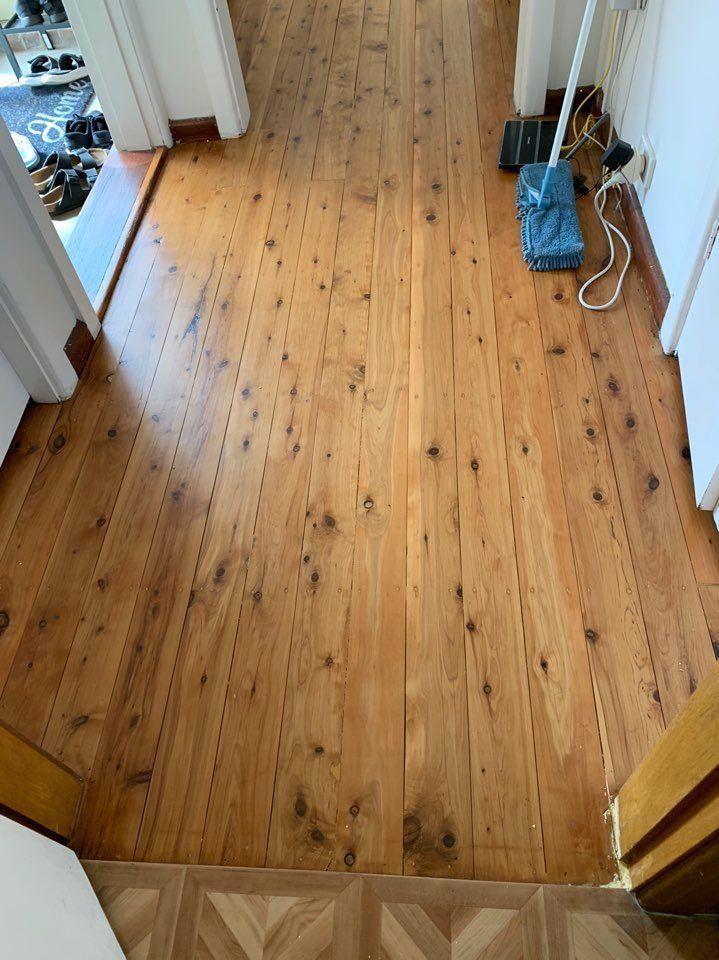 sanded timber