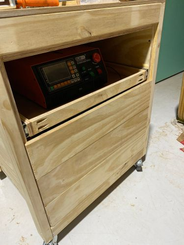 Test fit of drawer faces