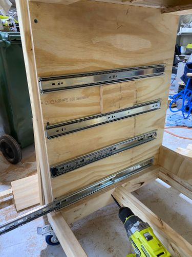 Mounting Drawer Slides