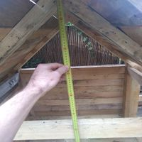10.1 Measure from under the pitch of the roof to the bottom of the horzontal beam..jpg