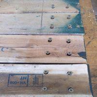 11.3 Pre-drill four upright posts..jpg