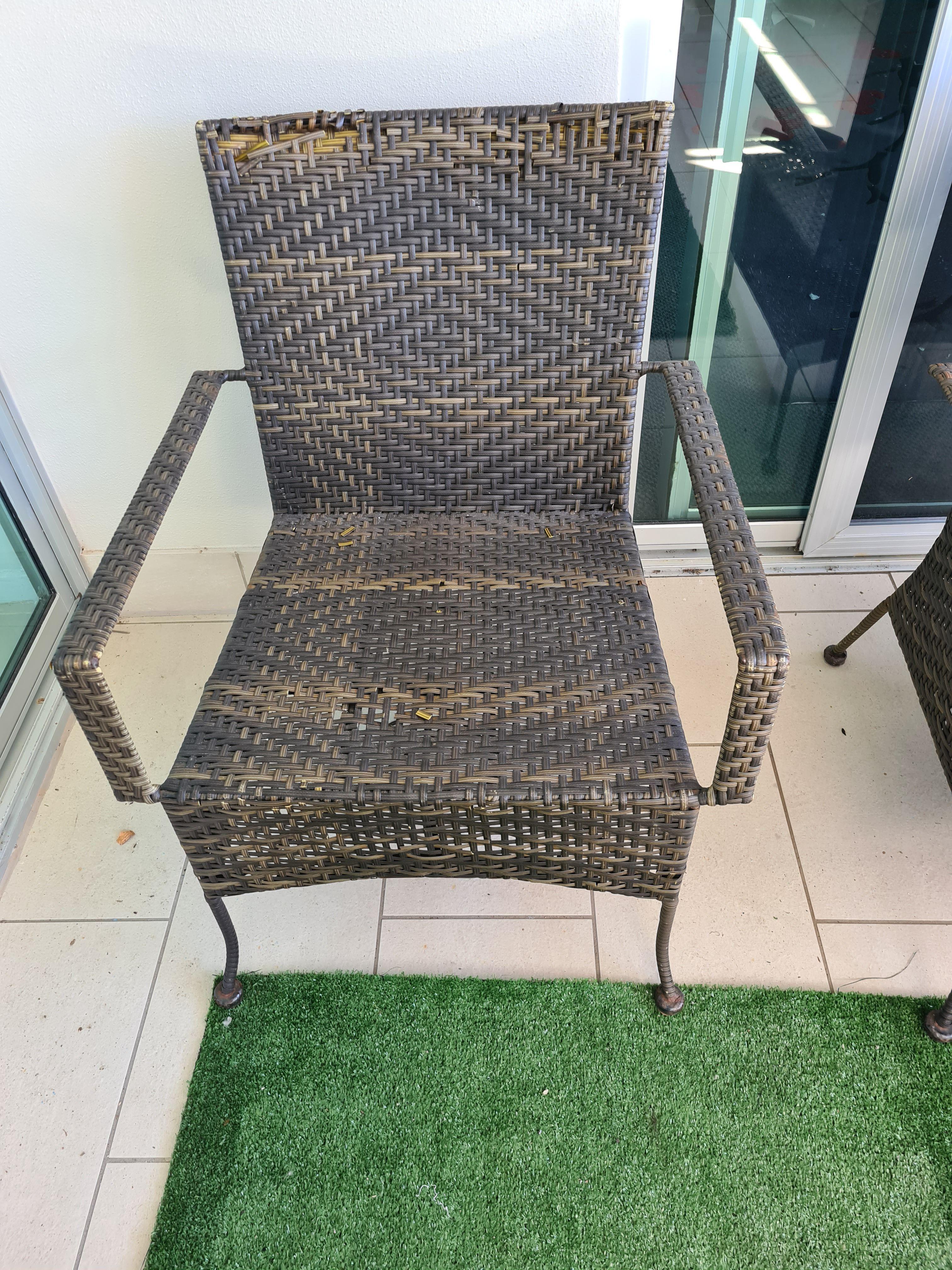 Restore Iron Rattan Furniture | Bunnings Workshop community