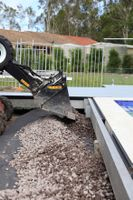 A drainage pan