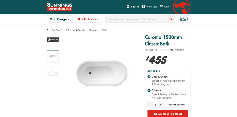 Screenshot_2020-10-05 Caroma 1500mm Classic Bath.png