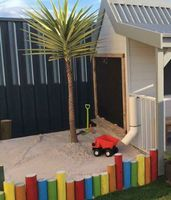 A sandpit is a great addition to a cubby
