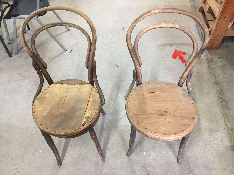 Two chairs to refurbish
