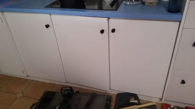 Decided to change cupboards to draws
