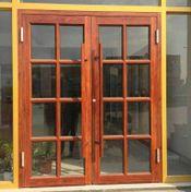 Older varnished doors