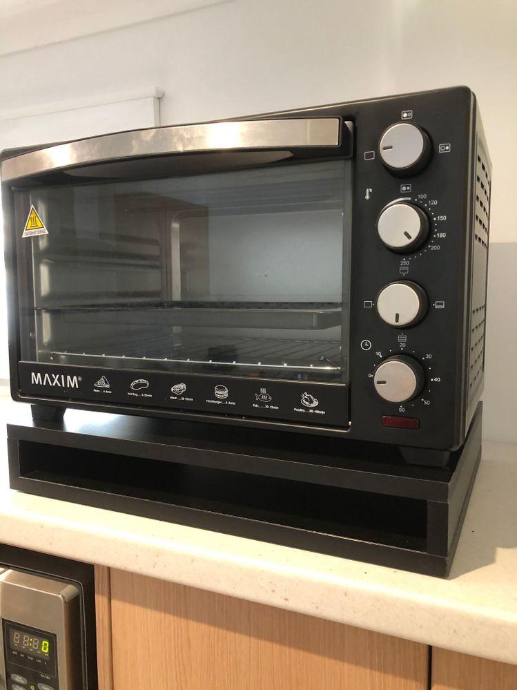 Oven was set at 200 deg C