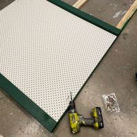 4.3 Add pegboard when paint dry.JPG