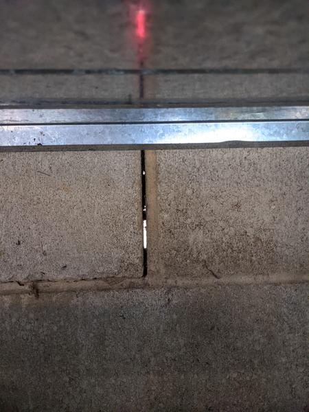 Interior - daylight between blocks