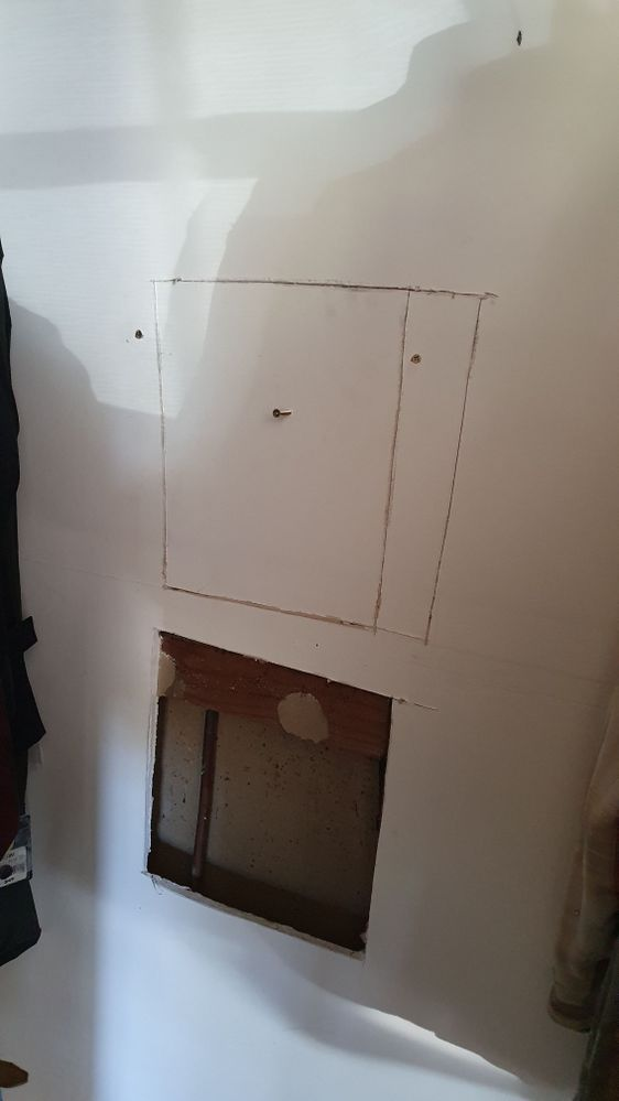 probably should of run the stud finder first lol