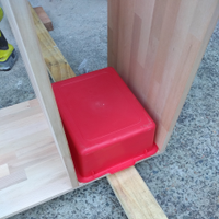 3.3 Second upright board screwed into position.png