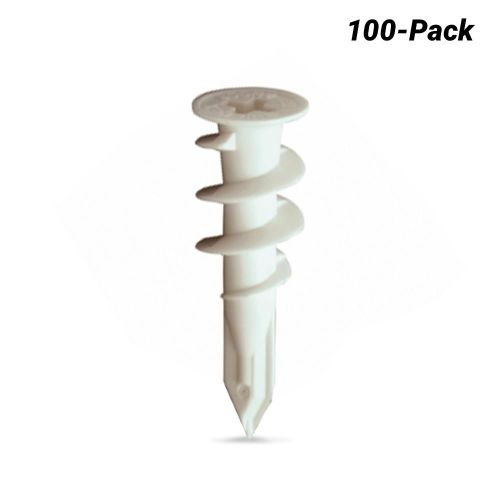 The Ramset wall anchors have a philips or cross head slot for installation and removal.