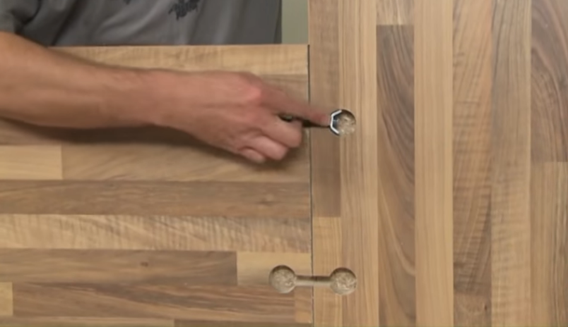 You can use bench top joiners to join the extensions as well.