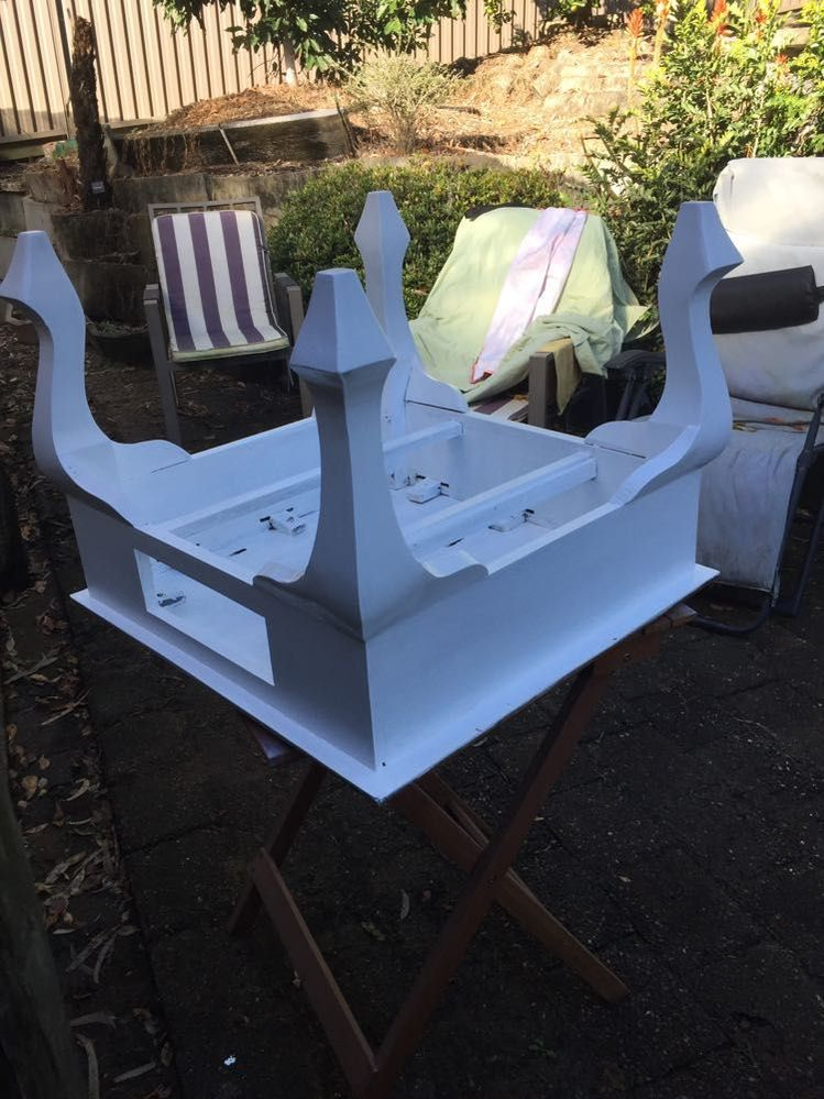 Primer and first coat on.