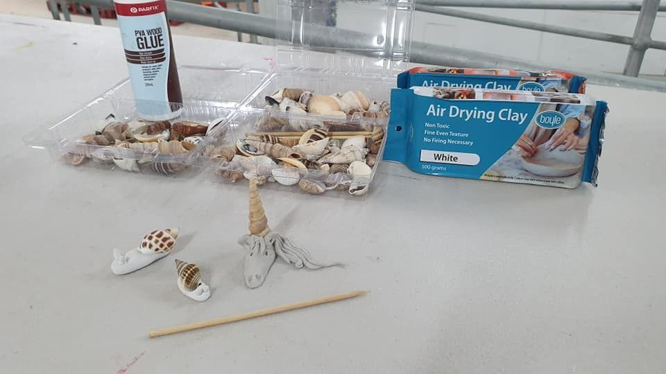 Air dry clay creations