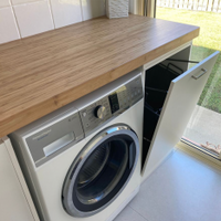 Mini laundry makeover by Jesse1