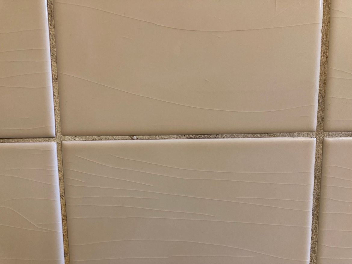 normal tile with no gap