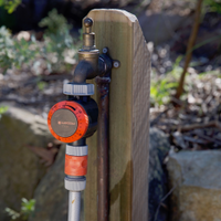 Basic tap timers are an easy way to manage water use.