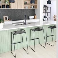 Kitchen island EasyVJ panelling by ProjectPete.