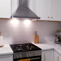 Cosmetic kitchen reno using paint by Chaks_DIY.
