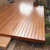 Merbau deck built by Bunnings Workshop member MGusto.