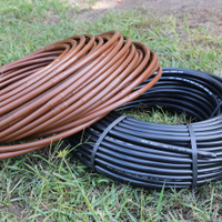 Drip line and poly pipe.