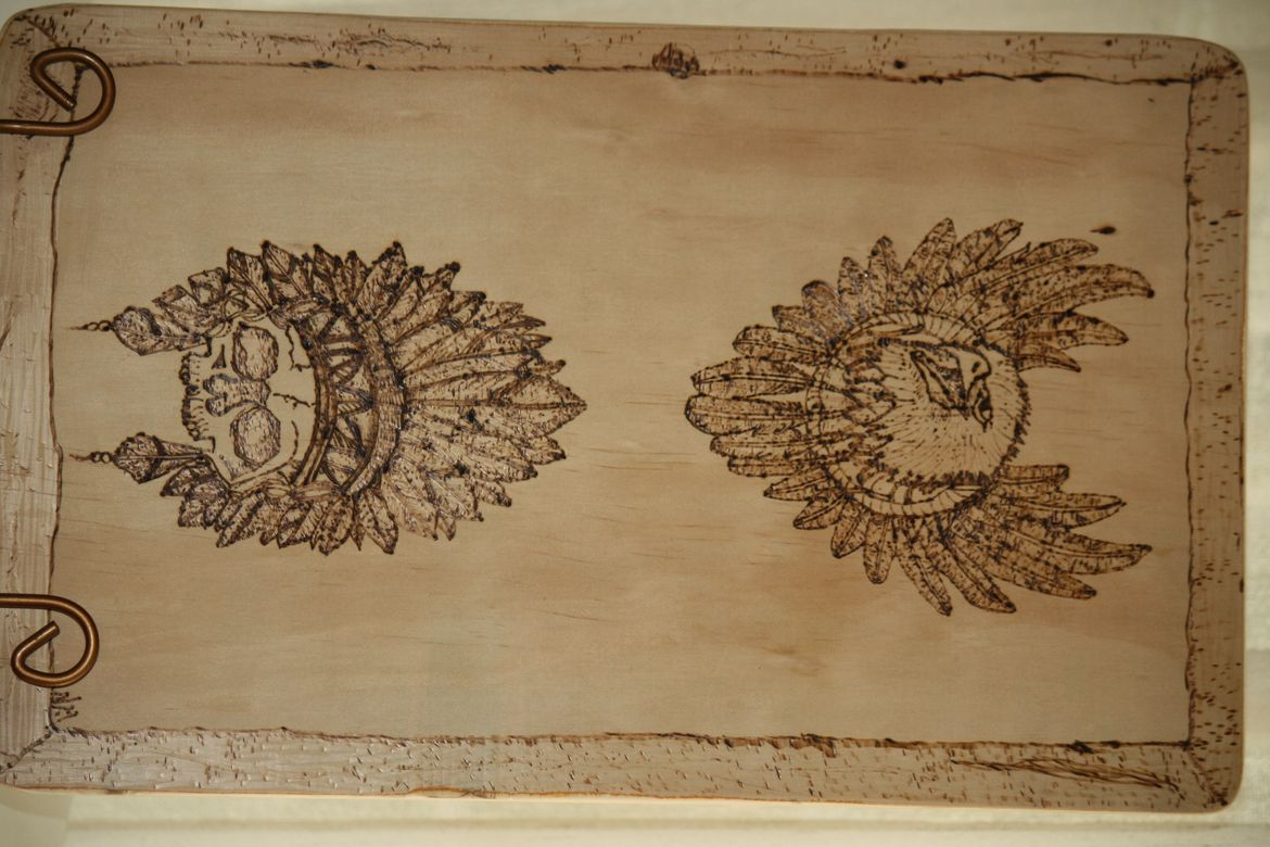Some Pyrography after the Injury .