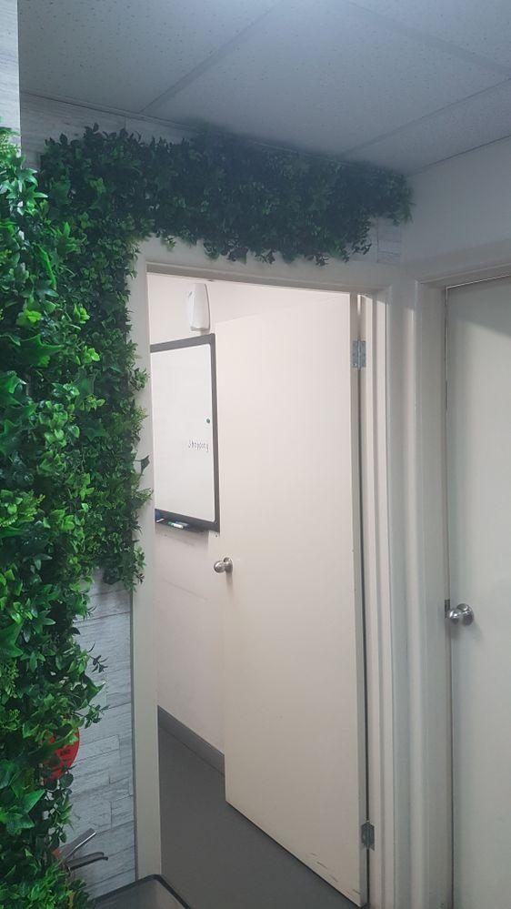 Over the door