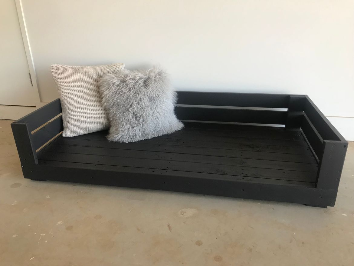 Double Dog Bed Frame  made from 100% recycled Pallets