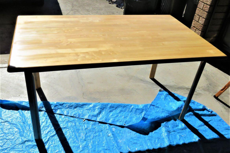Table top after resurfacing (1)
