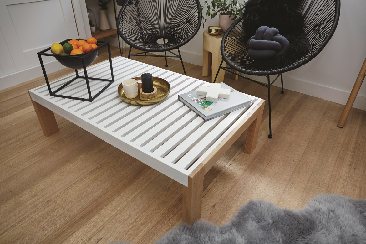 D.I.Y. Slatted Coffee Table