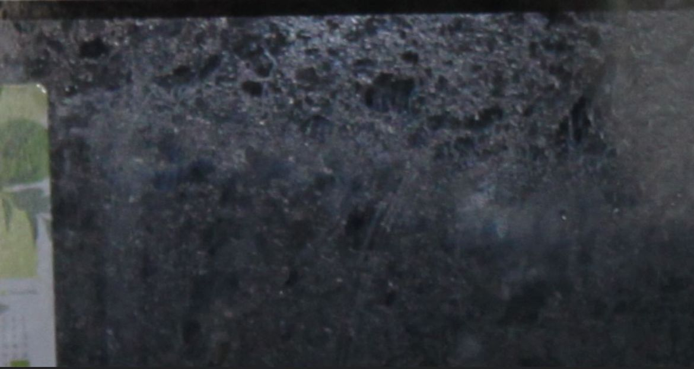 Close up of splashback
