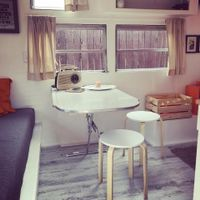 Rob's caravan reno was inspired by the Penguin Classics book range