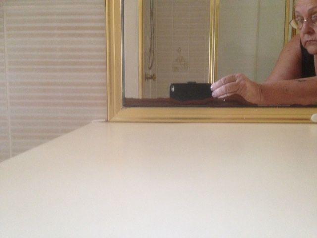 mirror damaged