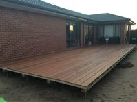A deck like Tara's can dramatically increase your living area.