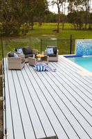 Composite decking boards can look great and require less maintenance