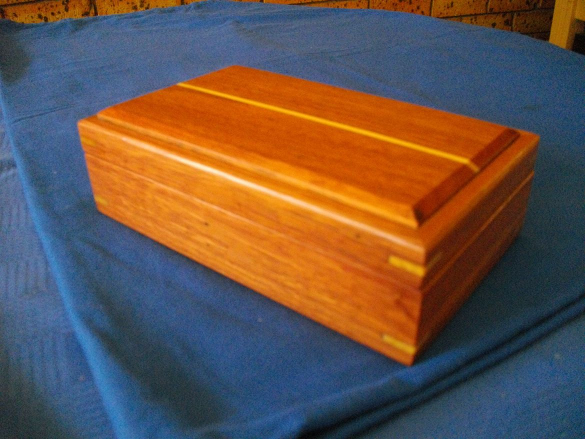 Red gum Jewellery Box