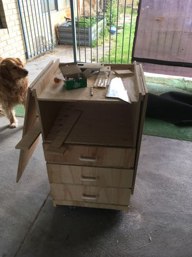 small 3 drawer model