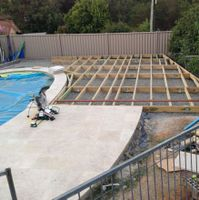 Allan72 shared his pool decking