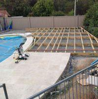 Allan72 shared his pool decking